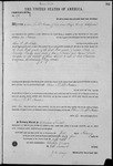 000194, US Land Patent, T27S, R13E, Oliver P. McFadden, Feb. 1, 1864, and BLM Land Patent Detail Sheet