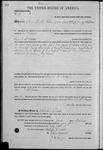 000195, US Land Patent, T27S, R13E, Oliver P. McFadden, Feb. 1, 1864, and BLM Land Patent Detail Sheet