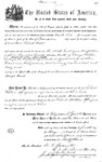 000526, US Land Patent, T27S, R13E, Robert Watt, May 1, 1869, and BLM Land Patent Detail Sheet