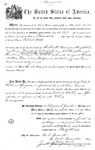 000529, US Land Patent, T27S, R13E, Robert Watt, May 1, 1869, and BLM Land Patent Detail Sheet