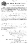 000530, US Land Patent T27S, R13E, Robert Watt, May 1, 1869, and BLM Land Patent Detail Sheet