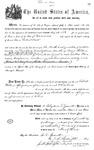 000532, US Land Patent, T27S, R13E, Robert Watt, May 1, 1869, and BLM Land Patent Detail Sheet