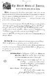 000537, US Land Patent, T27S, R13E, Robert Watt, May 1, 1869, and BLM Land Patent Detail Sheet