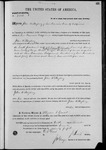 002716, US Land Patent, T27S, R13E, John Mayberry, Nov. 10, 1870, and BLM Land Patent Detail Sheet