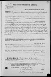 002000, US Land Patent, T27S, R14E, Benjamin Flint, Oct. 7, 1869, and BLM Land Patent Detail Sheet
