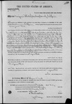 002263, US Land Patent, T27S, R13E and R14E, Benjamin Flint, May 20, 1870, and BLM Land Patent Detail Sheet