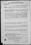 002336, US Land Patent, T27S, R14E, Benjamin Flint, May 10, 1870, and BLM Land Patent Detail Sheet