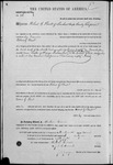 000036, US Land Patent, T27S, R16E, Robert G. Flint, Mar. 26, 1861, and BLM Land Patent Detail Sheet