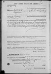 000062, US Land Patent, T27S, R16E, John D. Thompson, Mar. 28, 1861, and BLM Land Patent Detail Sheet