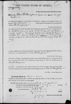 000063, US Land Patent, T27S, R16E, John D. Thompson, Mar. 28, 1861, and BLM Land Patent Detail Sheet