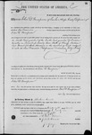 000065, US Land Patent, T27S, R16E, John D. Thompson, Mar. 28, 1861, and BLM Land Patent Detail Sheet