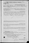 000067, US Land Patent, T27S, R16E, John D. Thompson, Mar. 28, 1861, and BLM Land Patent Detail Sheet