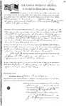093642, US Land Patent, T27S, R16E, John D. Thompson, James Watson, Jan. 11, 1860, and BLM Land Patent Detail Sheet