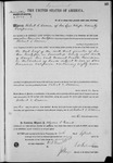 002586, US Land Patent, T28S, R10E, Robert S. Brown, Sept. 10, 1870, and BLM Land Patent Detail Sheet