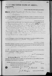 002664, US Land Patent, T28S, R10E, James Vaughan, Feb. 15, 1871, ], and BLM Land Patent Detail Sheet