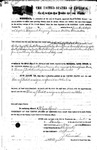 014373, US Land Patent, T28S, R10E, Thomas J. Beckett, James Knox, Nov. 10, 1871, and BLM Land Patent Detail Sheet