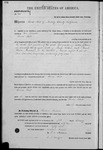 000166, US Land Patent, T28S R13E, Thomas Flint, Feb. 1, 1862, and BLM Land Patent Detail Sheet