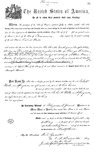 000538, US Land Patent, T28S, R13E, Robert Watt, May 1, 1869, and BLM Land Patent Detail Sheet