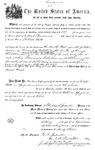 000539, US Land Patent, T28S, R13E, Robert Watt, May 1, 1869, and BLM Land Patent Detail Sheet