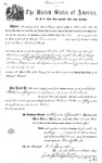 000541, US Land Patent, T28S, R13E, Robert Watt, May 1, 1869, and BLM Land Patent Detail Sheet