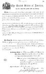 000542, US Land Patent, T28S, R13E, Robert Watt, May 1, 1869, and BLM Land Patent Detail Sheet