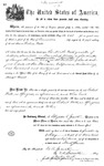 000543, US Land Patent, T28S, R13E, Robert Watt, May 1, 1869, and BLM Land Patent Detail Sheet