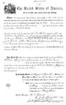 000547, US Land Patent, T28S, R13E, Robert Watt, May 1, 1889, and BLM Land Patent Detail Sheet