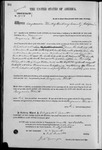 001984, US Land Patent, T28S, R13E, Benjamin Flint, Oct. 7, 1869, and BLM Land Patent Detail Sheet