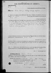 000164, US Land Patent, T23S, R14E, Thomas Flint, Feb. 1, 1862, and BLM Land Patent Detail Sheet