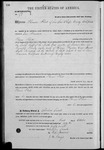 000179, US Land Patent, T28S, R14E, Thomas Flint, Oct. 1, 1862, and BLM Land Patent Detail Sheet