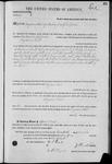 003263, US Land Patent, T28S, R14E, Benjamin Flint, Nov. 20, 1871, and BLM Land Patent Detail Sheet