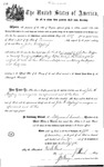 001249, US Land Patent, T28S, R15E, John W. Mayberry, Nov. 5, 1870, and BLM Land Patent Detail Sheet