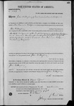 002747, US Land Patent, T28S, R15E, John W. Mayberry, Nov. 10, 1870, and BLM Land Patent Detail Sheet