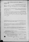 000038, US Land Patent, T28S, R16E, Robert G. Flint, Mar. 28, 1861, and BLM Land Patent Detail Sheet