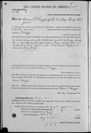 000046, US Land Patent, T28S, R16E, Calvin T. Briggs, Mar. 28, 1861, and BLM Land Patent Detail Sheet