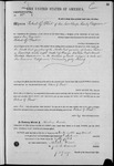000085, US Land Patent, T28S, R16E, Robert G. Flint, Mar. 28, 1861, and BLM Land Patent Detail Sheet