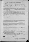000105, US Land Patent, T28S, R16E, Drura W. James, Mar. 28, 1861, and BLM Land Patent Detail Sheet