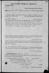 000188, US Land Patent, T28S, R16E, John D. Thompson, Oct. 1, 1862, and BLM Land Patent Detail Sheet