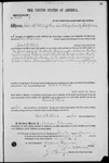 001695, US Land Patent, T28S, R16E, Robert G. Flint, Nov. 10, 1868, and BLM Land Patent Detail Sheet