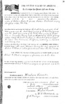 067452, US Land Patent, T28S, R16E, Robert G. Flint, Eve Cooper, William Cooper, July 1, 1861, and BLM Land Patent Detail Sheet