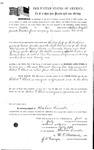 074662, US Land Patent, T28S, R16E, Robert G. Flint, William Berryhill, July 1, 1861, and BLM Land Patent Detail Sheet
