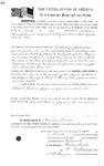 078122, US Land Patent, T28S, R16E, Robert G. Flint, Bartholomew Kenniff, Nov. 5, 1862, and BLM Land Patent Detail Sheet