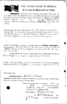 085467, US Land Patent, T28S, R16E, Drura W. James, William Berry, July 1, 1861, and BLM Land Patent Detail Sheet