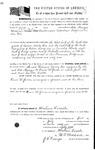 093790, US Land Patent, T28S, R16E, Drura W. James, Peter Mangus, July 1, 1861, and BLM Land Patent Detail Sheet