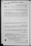 000185, US Land Patent, T28S, R17E, John D. Thompson, Oct. 1, 1862, and BLM Land Patent Detail Sheet