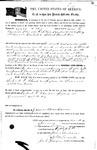 087421, US Land Patent, T28S, R17E, Robert G. Flint, James C. Purcell, Jan. 11, 1861, and BLM Land Patent Detail Sheet