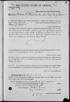 000083, US Land Patent, T28S, R18E, Robert G. Flint, Mar. 28, 1861, and BLM Land Patent Detail Sheet