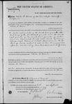 002527, US Land Patent, T29S, R11E, Elisha W. Howe, Sept. 10, 1870, and BLM Land Patent Detail Sheet