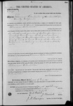 002598, US Land Patent, T29S, R11E, Filomena Valensuela, Feb. 15, 1871, and BLM Land Patent Detail Sheet
