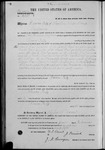 002599, US Land Patent, T29S, R11E, Ramon Feliz, Feb. 15, 1871, and BLM Land Patent Detail Sheet
